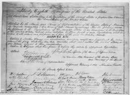 amendment essay 13th amendment essay