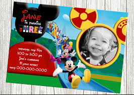 mickey mouse clubhouse birthday invitations ctsfashion com mickey mouse clubhouse invitations for special birthday party