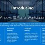 Windows 10 Pro for Workstations: If You Wanna Play, You Gotta Pay