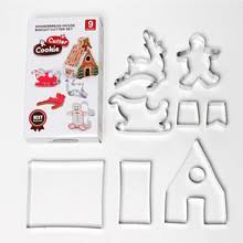 Baking <b>Mould</b> Christmas Biscuit Creative <b>Stainless Steel</b> Cookie ...