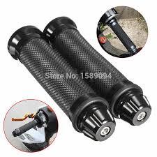 "titanium motorcycle <b>cnc aluminum 7/8</b>"" <b>22mm</b> handlebar rubber ..."