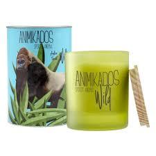 <b>Свеча ароматическая AMBIENTAIR</b> Амбровый Wild, 40 ч ...