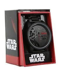 Star Wars Disney Дарт Вейдер мощь темной стороны метал <b>часы</b> ...