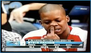 Steve Francis pays tribute to Ralph Wiggum on national television - 6a00d83451b84f69e20120a93b841e970b-550wi