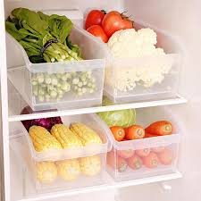 1 PC 6L Plastic Food <b>Storage Box with Pulley</b> Drawer Type ...