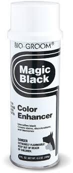 <b>Bio</b>-<b>Groom Magic Black</b> черный выставочный <b>спрей</b>-мелок 236 мл