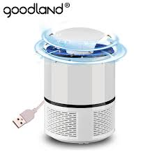 USB Powered 360° Suction Electronic Fly Bug Zapper Mosquito ...