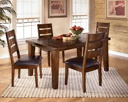 butterfly leaf dining table b signature design by ashley larchmont rectangular extension table  chai