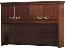 bedford overhead storage desk hutch bedford shaped office desk