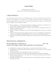 warehouse resume cover letter job cover letter job resume resume procurement specialist resume career profile professional resume for warehouse clerk resume for warehouse job no
