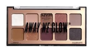 <b>NYX Professional Make Up</b> Away We Glow Shadow Palette: Love ...