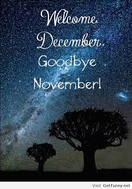 Welcome december goodbye november - Funny Pictures, Funny - image ... via Relatably.com