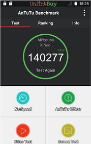 <b>Alldocube X Neo</b> Antutu benchmark score