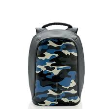 <b>XD Design Bobby Compact</b> Anti Theft Backpack - Camouflage Blue ...