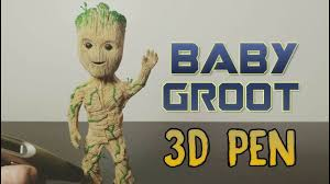 3D Pen | <b>Guardians of the</b> galaxy vol. 2 | 3D <b>Printing</b> Pen Creations