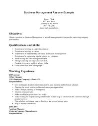 12 business resume examples recentresumes com business management resume example business resume format
