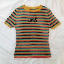 <b>Rainbow Striped</b> T-Shirts for <b>Women</b> for sale | eBay