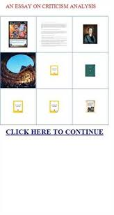 an essay on criticism analysis writing help