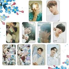 1 pcs hot nine percent collective photocard pvc waterproof photo lomo card case bag posters stationery holders fans gift