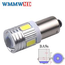 <b>1Pcs BA9S 6 SMD</b> 5630 LED Canbus lamps Error Free t4w h6w Car ...
