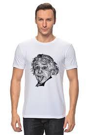 Футболка <b>классическая Альберт</b> Эйнштейн #1610505 от ...