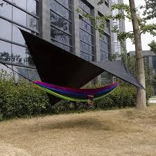 Waterproof <b>hammock</b> tarp rain fly 11*10 feet outdoor camping tent ...