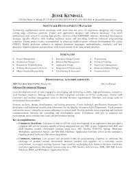 software development manager resume com software development manager resume to inspire you how to create a good resume 6