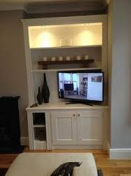 image result for tv alcove units alcove lighting ideas