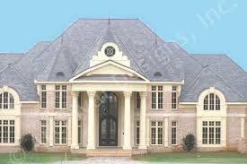 Ashburton House Plans   Home Plans By Archival DesignsAshburton House Plan   Classical   Front View