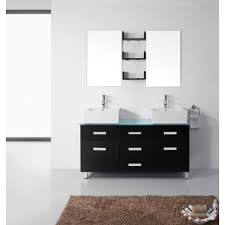 55 inch double sink bathroom vanity: virtu maybell double sink bathroom vanity sinks virtu maybell double bathroom vanity set