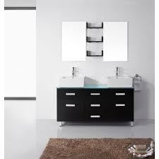 55 inch double sink bathroom vanity: virtu maybell double sink bathroom vanity sinks virtu maybell double bathroom vanity set
