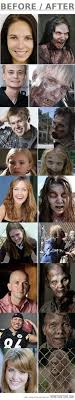 make up of the walking dead 39 s zombies