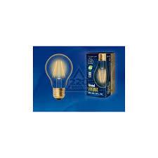 <b>Лампа Uniel LED</b>-<b>A60</b>-<b>6W</b>/<b>GOLDEN</b>/<b>E27</b> - цена, фото - купить в ...