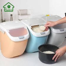 Pawaca 6/10/15Kg <b>Rice Storage</b> Box Sealed Moisture proof <b>Large</b> ...