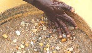 exploring a diamond mine in sierra leone will travel life if a diamond is found it will be at the center of the sifter no luck this batch unfortunately