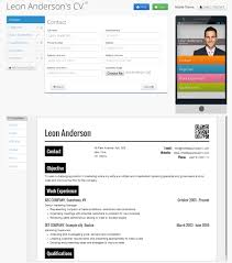 about our service responsive cv mobile resume qr code chrome plugin