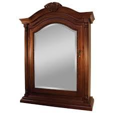 Rustic Wood Medicine Cabinet Walnut Mirrored Medicine Cabinet Mirrors And Wall Decor