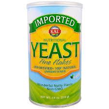 <b>Пищевые дрожжи</b>, Nutritional Yeast, Kal, <b>мелкие</b> хлопья, 220 г - в ...