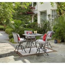 Sutton Rowe Fillmore <b>5 pc</b>. Outdoor <b>High</b> Dining Set