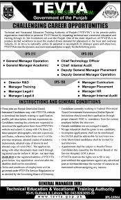 technical education vocational training authority lahore jobs technical education vocational training authority lahore jobs 08 11 2015 05 22 am