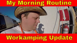 work camping update my morning routine managing a pumpkin patch work camping update my morning routine managing a pumpkin patch while rv living