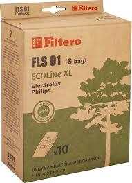 <b>Набор пылесборников Filtero FLS</b> 01 (S-bag) ECOLine XL 10 шт ...