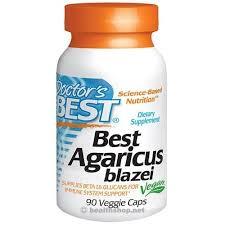 Doctor's Best Agaricus Blazei with BioPerine, 400mg ... - Health Shop