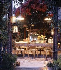 patio dining: beverly drive outdoor dining room eclectic patio