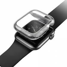 Купить <b>чехол uniq</b> garde для <b>apple</b> watch 44 мм серый (smoke ...