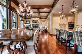 Open floor plan   Traditional   Dining Room   other metro   by    Open floor plan traditional dining room