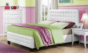 piece emmaline upholstered panel bedroom: sparkle upholstered bed white he f  sparkle upholstered bed white