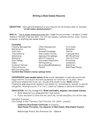 resume examples  general career objective examples for resumes        resume examples  general career objective examples for resumes with real estate finance experience  general