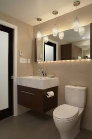 bathroom place vanity contemporary: place beautiful modern hanging bathroom vanity lights on either side of your vanity mirror such a position provides the best face illumination