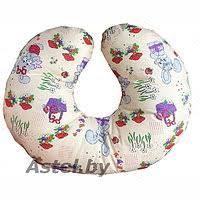 подушка для кормления smart textile горох mint st285
